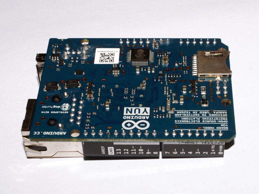 Arduino yun wstęp akademia nettigo